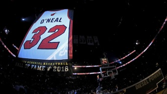 Heat Storm Back to Beat Lakers After Honoring Shaq
