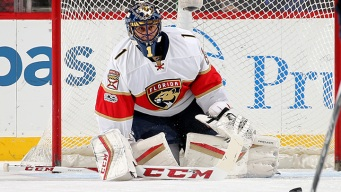 Panthers' Luongo Shuts Devils Out in Return