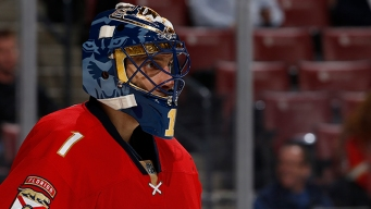 Luongo Joins Exclusive Club as Panthers Beat New Jersey