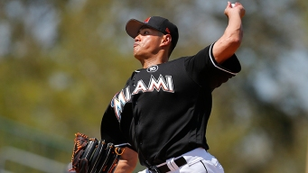 Marlins' Chen Strikes Out Six in Loss to Astros