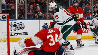Panthers' Skid Extended to Four With Loss to Wild
