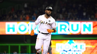Marlins' Ozuna Lobbying for All-Star Votes With Every Swing