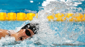 Katie Ledecky Swims to AP Female Athlete of the Year Honors