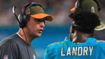 Despite Skid, Gase Says Dolphins Have Enough Talent to Win