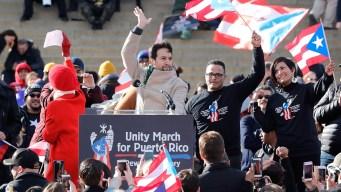 Thousands March Through Washington D.C. for Puerto Rico