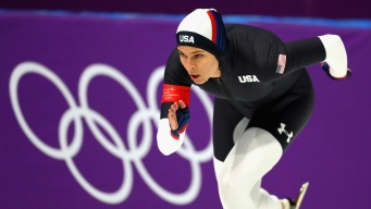 Florida Speedskater Brittany Bowe Comes in 4th in 1000m