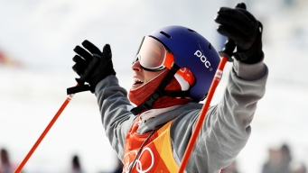 Goepper Earns 2nd Olympic Medal in Freeski Slopestyle