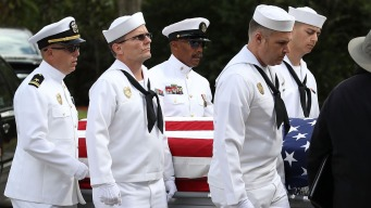 Funeral, Military Burial for Stoneman Athletic Director