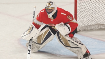 Panthers' Luongo Named Finalist for Masterton Trophy