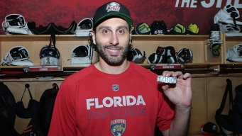 Panthers' Luongo Named NHL's Second Star of the Week