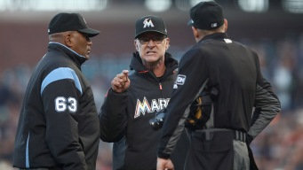 Marlins' Mattingly and Straily Suspended