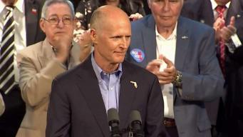 Governor Rick Scott Campaigns in Hialeah