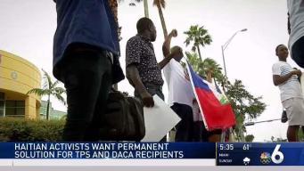 Haitian Activists Want Permanent Solution for TPS and DACA Recipients