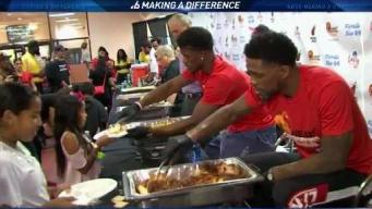 Heat Host 28th Annual Thanksgiving Celebration