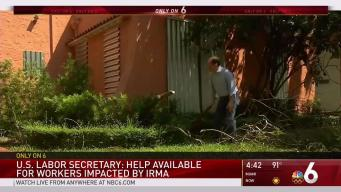 Help Available for Workers Impacted By Irma