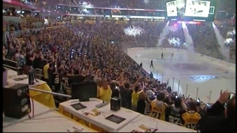 Penguin Fans Celebrate Stanley Cup Win