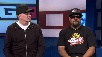 Ice Cube, Michael Rapaport Talk Big3 Basketball