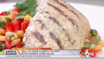 In The Kitchen with Goya: Savory Grilled Halibut