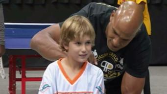 Jason Taylor Foundation's Ping Pong Tournament