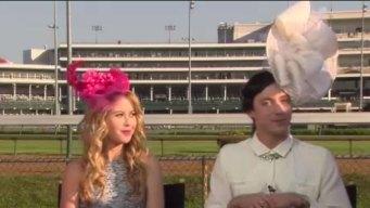 Johnny Weir's Attention-Grabbing Derby Hat