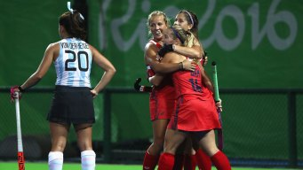 US Women Top Argentina 2-1 in Olympic Field Hockey
