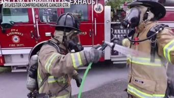 Local Firefighters Promote Health and Safety