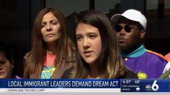 Local Immigrant Leaders Demand Dream Act
