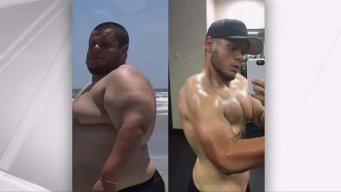 Local Man Drops 200 Pounds Using Social Media