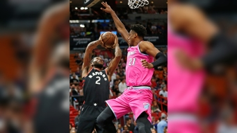 Raptors Top Heat 106-104, Improve NBA's Best Record
