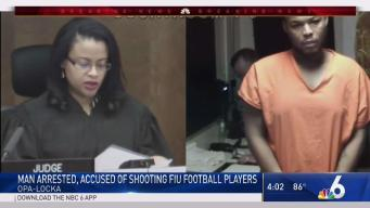 Man Arrested in Shooting of 2 FIU Football Players