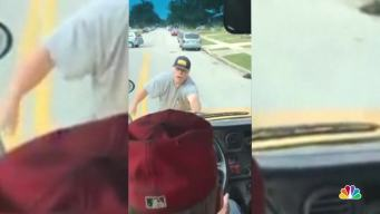 Man Clings to Front of School Bus in Road Rage Case