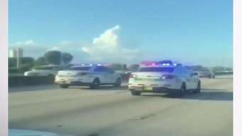 Man Shoots Himself After Cross County Chase