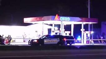 Man Shot at Gas Station in Lauderdale Lakes