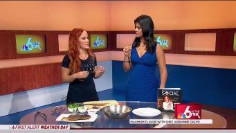 Maximum Flavor with Chef Adrianne Calvo