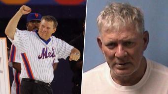 Mets Legend Lenny Dykstra Arrested in NJ