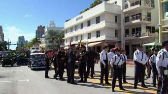 Miami Beach Holds Annual Veterans Day Parade