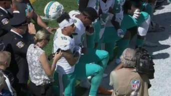 Miami Dolphins to Punish National Anthem Protesters