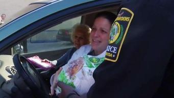 Miami Gardens Police Give Away Free Turkeys to Drivers