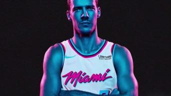 Miami Heat's New 'Vice' Jersey Tributes Retro Magic City
