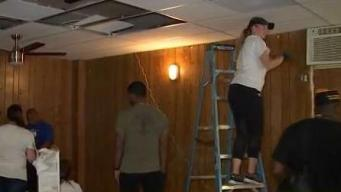 Opa-locka Veterans' Center Gets Makeover With Help From Miami Heat