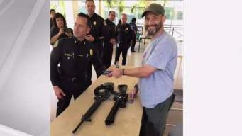 Military Veteran Gives Up Rifles After Parkland Tragedy
