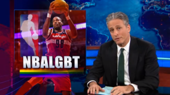 Jon Stewart Talks Jason Collins Coming Out