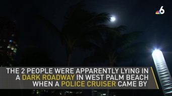 West Palm Beach Officer Ran Over Pair Lying in Road to Watch Eclipse