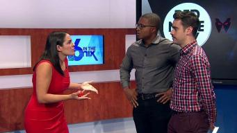NBC 6 Shows Improv Chops Ahead of Red Nose Day