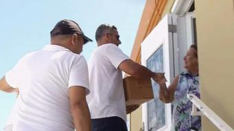 NBC 6 in Puerto Rico as Jorge Posada Hand-Delivers Aid