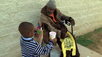 Boy, 4, Feeds Homeless With His Allowance
