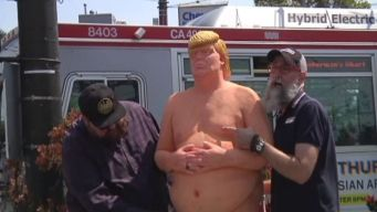 The Man Behind 'Naked Trump' Statues