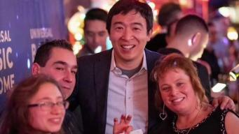 NH Family Receives $1,000 a Month to Test Yang's Plan