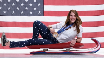 NY Luger Erin Hamlin to Carry US Flag Into Opening Ceremony
