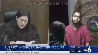 No Bond for Man Accused of Shooting Doral Police Officer